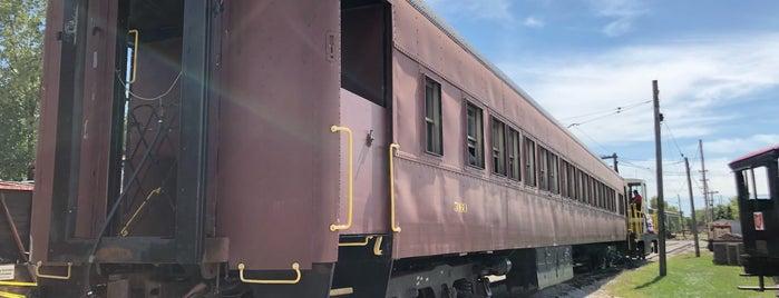 The Ohio Railway Museum is one of CBus.
