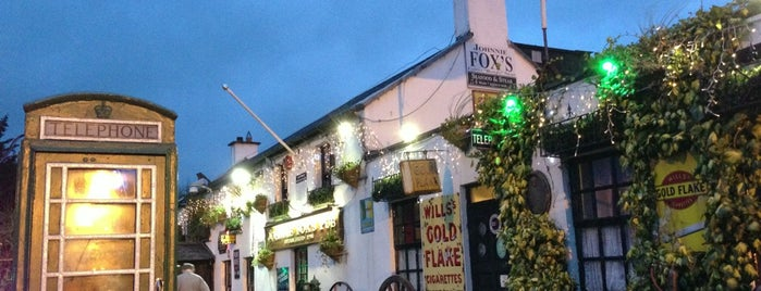Johnnie Fox's is one of The Ultimate Guide to Dublin.