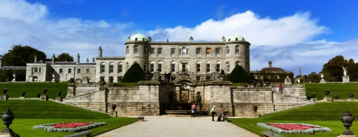 Powerscourt House and Gardens is one of Mark's list of Ireland.