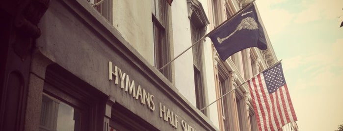 Hyman's Seafood is one of Charleston.