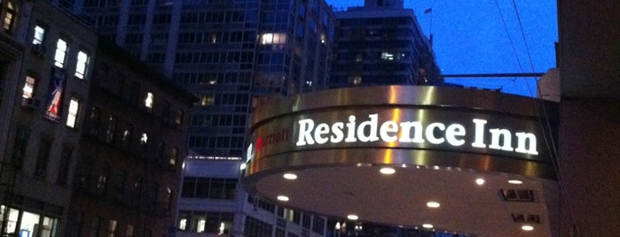 Residence Inn by Marriott New York Manhattan/Times Square is one of Mis lugares en New York.