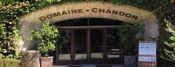 Domaine Chandon is one of My favoite places in USA.