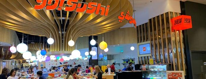 YO! Sushi is one of Tempat yang Disukai Вероничка💎.