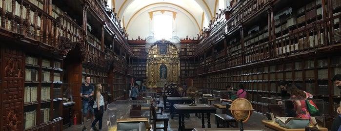 Biblioteca Palafoxiana is one of Tempat yang Disukai @lagartijilla83.