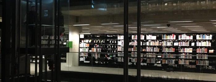 Bibliothèque et Archives nationales du Québec (Grande Bibliothèque) is one of Tempat yang Disukai @lagartijilla83.