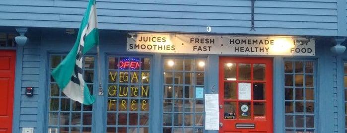 Raw Power Juice Bar & Kitchen is one of Vegan Friendly.