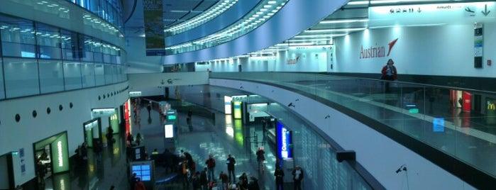 Aeroporto di Vienna-Schwechat (VIE) is one of Official airport venues.
