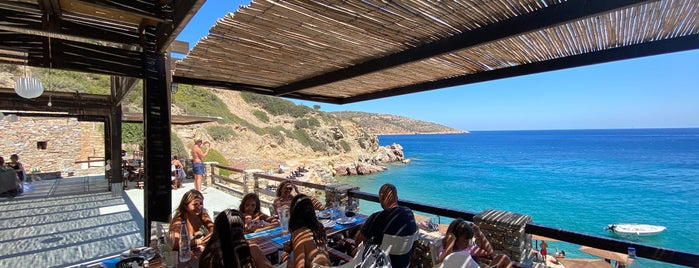Beach Bar Lazarou is one of Sifnos.