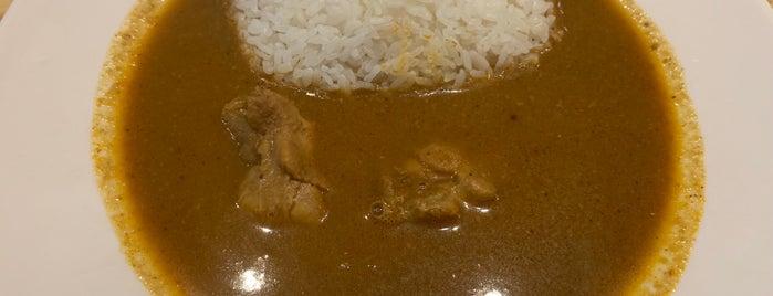 インド風カリーライス すぱいす is one of カレーが好き☆*:.。. o(≧▽≦)o .。.:*☆.