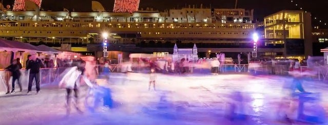 The Queen Mary is one of Your Ultimate Guide To Outdoor Ice Rinks In L.A..