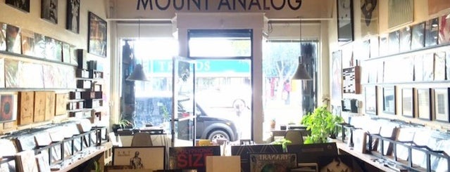 Mount Analog is one of The 10 Best Record Stores In Los Angeles.