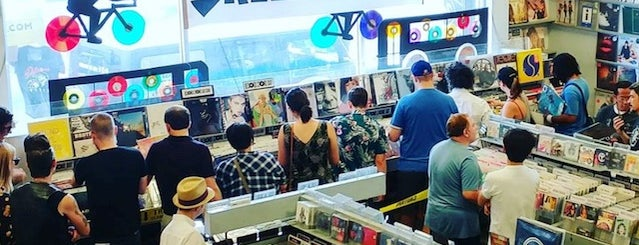 Amoeba Music is one of The 10 Best Record Stores In Los Angeles.