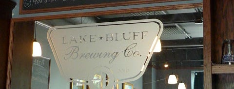 Lake Bluff Brewing Company is one of Solid Chicago craftbeer venues.