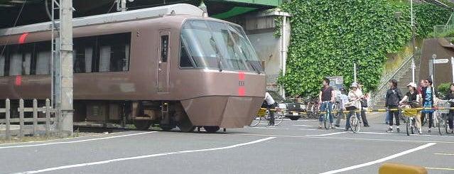 Yoyogi-Hachiman Station (OH04) is one of Tokyo - Yokohama train stations.
