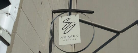 Adrian Fog Winery is one of Sonoma County.