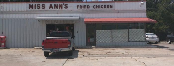 Miss Ann's Fried Chicken is one of Fried Chicken.
