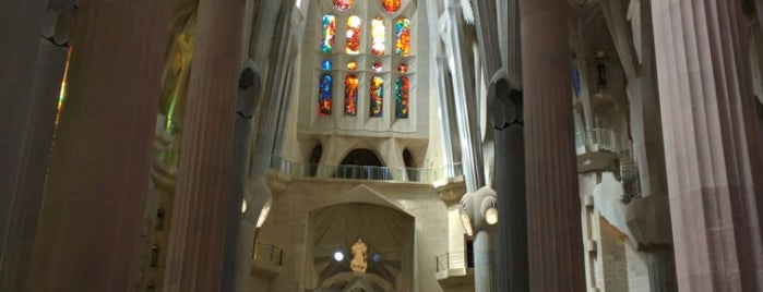 Sagrada Família is one of Go Ahead, Be A Tourist.