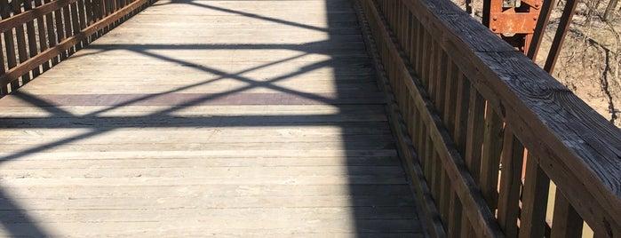 Perche Creek Bridge is one of Tempat yang Disukai 🖤💀🖤 LiivingD3adGirl.