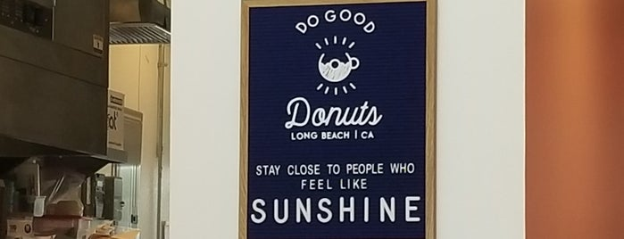 Do Good Donuts is one of Bob'un Beğendiği Mekanlar.
