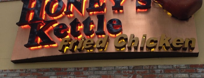 Honey's Kettle Fried Chicken is one of LA.
