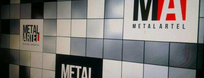 Metal Artel - dizaina darbnīca is one of Laikam būs jāaiziet.