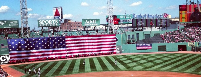 Fenway Park is one of Tempat yang Disukai Christopher.