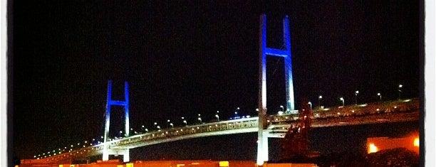 横浜ベイブリッジ is one of 日本夜景遺産.