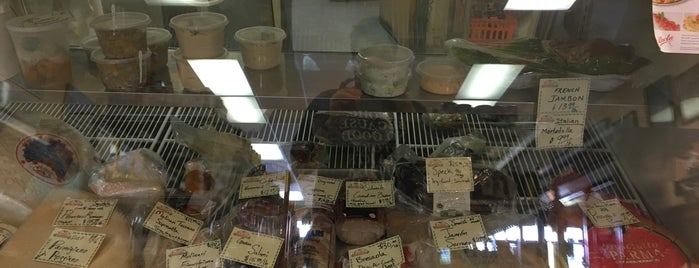 Jerusalem Market is one of 100 Foods in 100 Counties (NC).