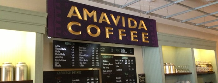 Amavida Coffee is one of Jenna 님이 저장한 장소.