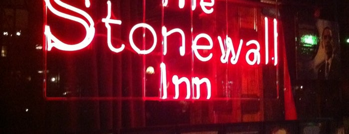 Stonewall Inn is one of Manhattan Bars to Check Out.