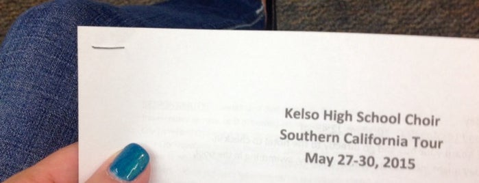 Kelso High School is one of My Saved Places.