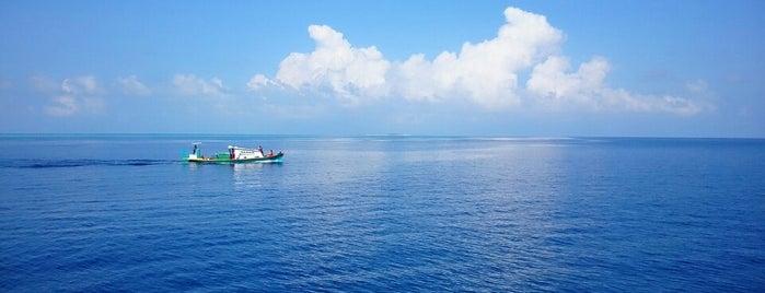 Gaafaru kandu is one of Tempat yang Disukai aziz.