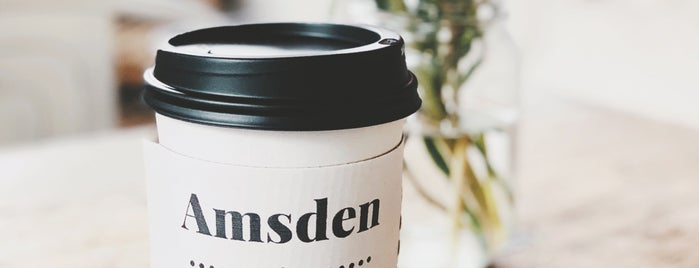 Amsden Coffee Club is one of Southeast.