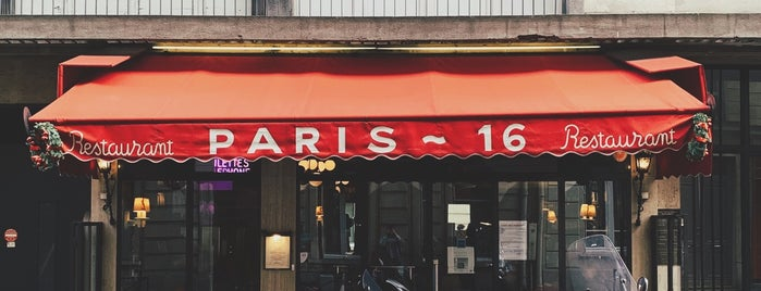 Le Paris 16 is one of Gay paree.