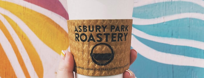 Asbury Park Roastery is one of Lizzie 님이 저장한 장소.