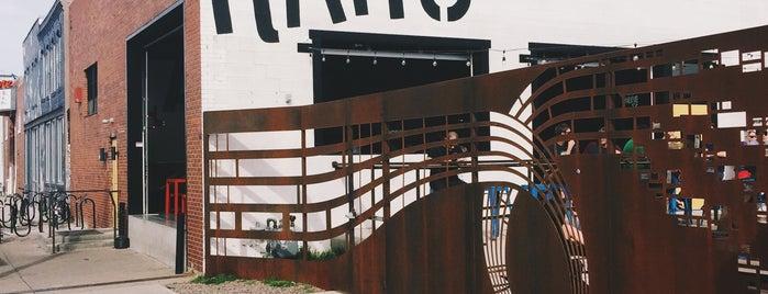 Ratio Beerworks is one of Denver.