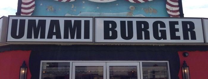 Umami Burger is one of Lieux qui ont plu à Michelle.