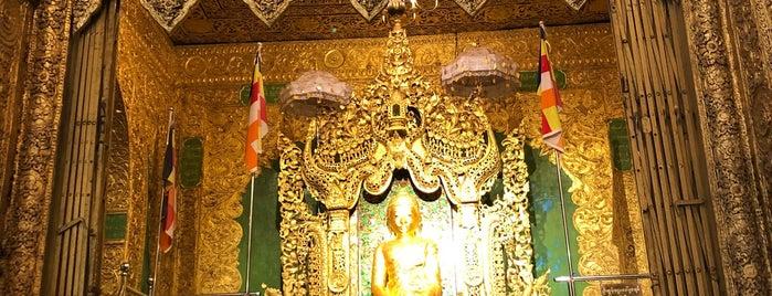 Kyaikpawlaw Budhist Image is one of Yangon - Myanmar.