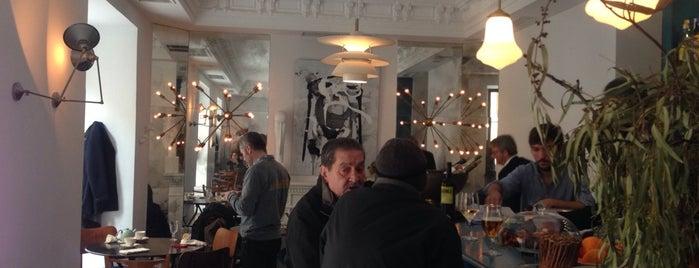 GANZ café bistrot is one of Madrid.