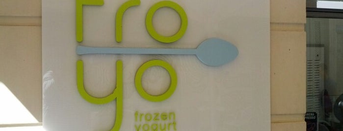 Froyo is one of Athens must.