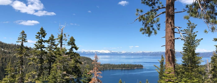 Lake Tahoe Basin is one of California National Forests.