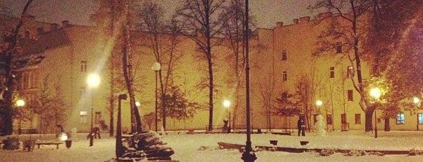Сквер Андрея Петрова is one of СПб. Необычные места.