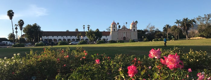 Old Mission Santa Barbara Museum and Garden is one of California dreamin.