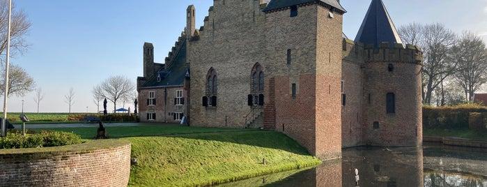 Kasteel Radboud is one of Museums that accept museum card.