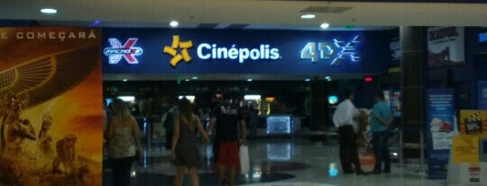 Cinépolis is one of Cinthia 님이 좋아한 장소.