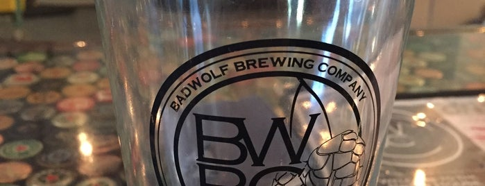 BadWolf Brewing Company is one of Gespeicherte Orte von Adam.