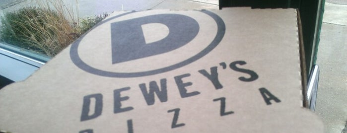 Dewey's Pizza is one of Colleen 님이 저장한 장소.