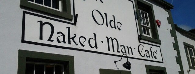 Ye Olde Naked Man Cafe is one of Lugares favoritos de Carl.