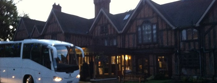Alveston Manor Hotel is one of Tempat yang Disukai Michael.