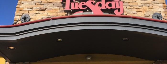 Ruby Tuesday is one of Orte, die Justin gefallen.